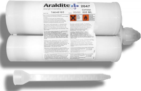 Araldite 2047 480 ml Doppelkartusche mit ZMS